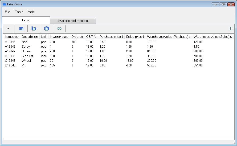 Click to view LakeusWare 1.17.3 screenshot